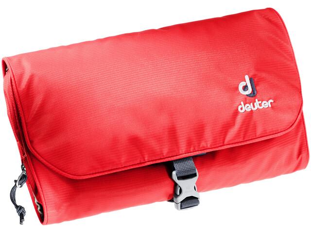 Deuter Wash Bag II, chili-navy